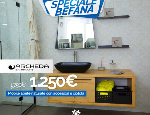 Mobile bagno Archeda Wood Factory